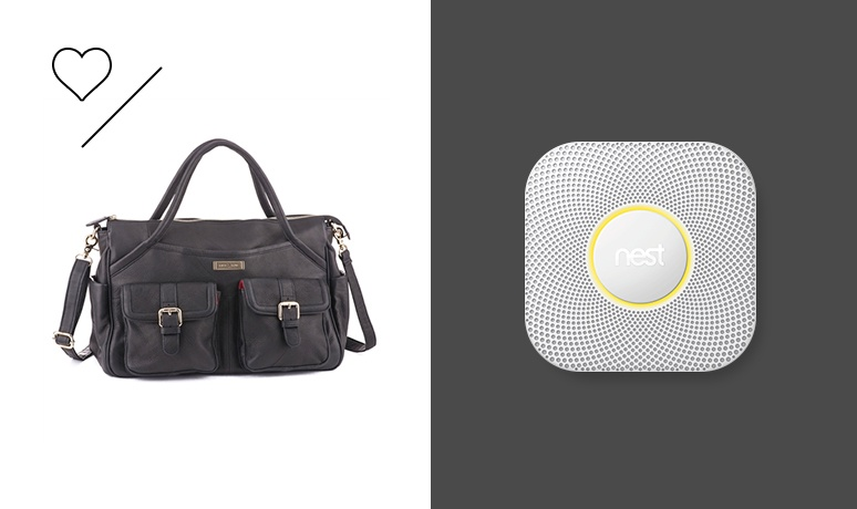 Products We Love: Nest Protect and the Lily Jade Diaper Bag