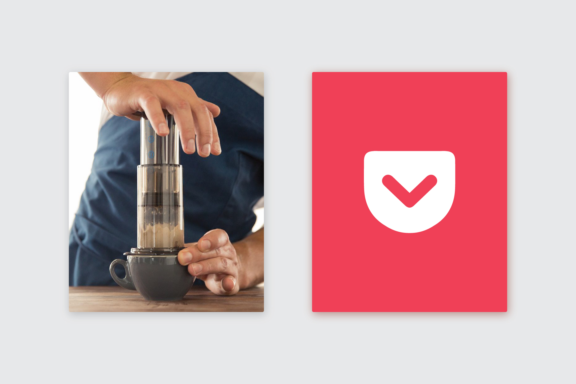 Products We Love: Aerobie Aeropress and the Pocket App